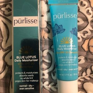 NIB! Purlisse Blue Lotus Daily Moisturizer w/SPF50